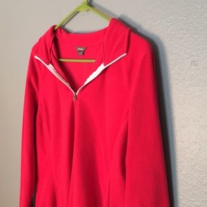Eddie Bauer quarter zip fleece